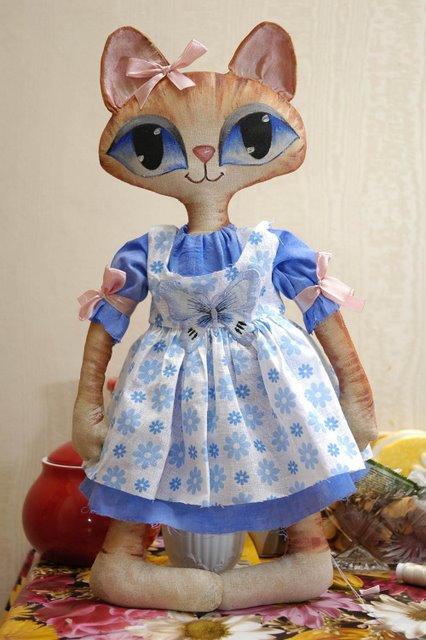 Выкройки для шитья мягких игрушек - котов.  Дата: 20 Март 2010.