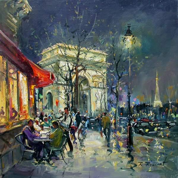 Escaliers Vosges: художник Robert Ricart. Обсуждение на LiveInternet