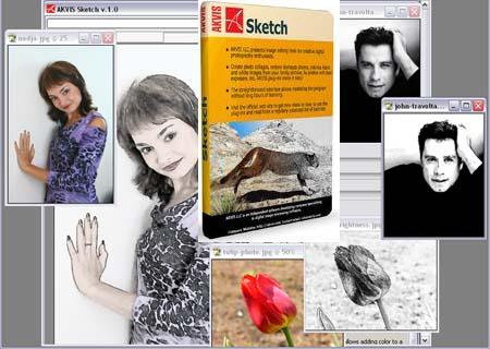 программа для создания рисунка из фотографии