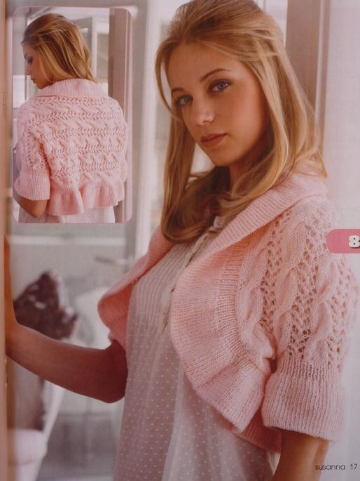 вязание ажурных джемперов спицами для женщин