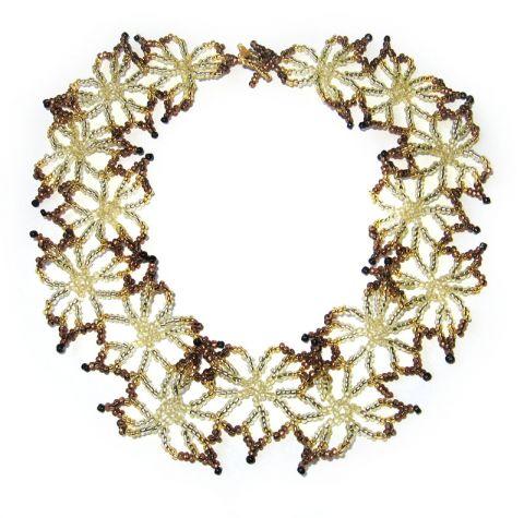 Ожерелье из бисера отличный подарок для женщины, вы сможете сделать его...