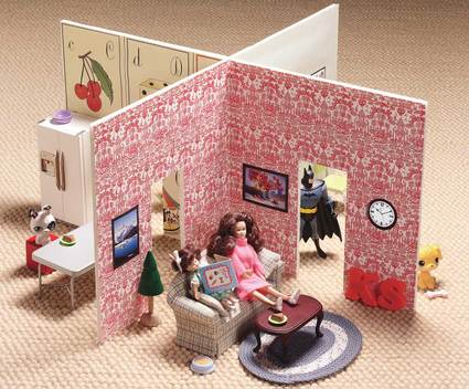 Как сделать кукольный домик своими руками.