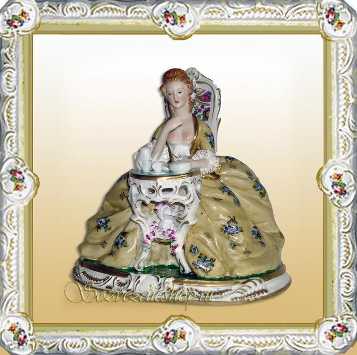 В домах русской знати фарфор появился в 16 веке: его получали в дар от...