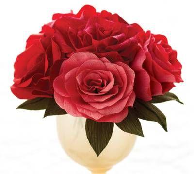 Как сделать розу из бисера схема.