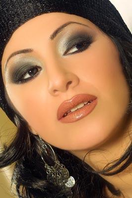 Восточный макияж - техника и примеры (фото).  Арабский или восточный...