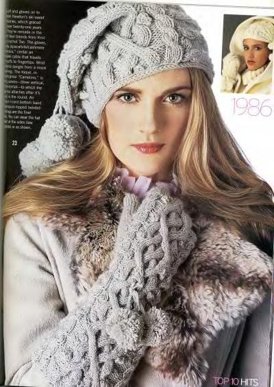 ...Анна 24 ноября 2008 год. как вязать шапку спицами для начинающих.