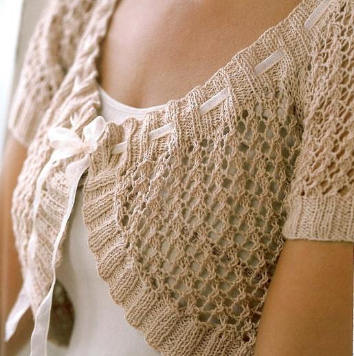 вязаные жакеты со схемами. вязание спицами женских кофт.