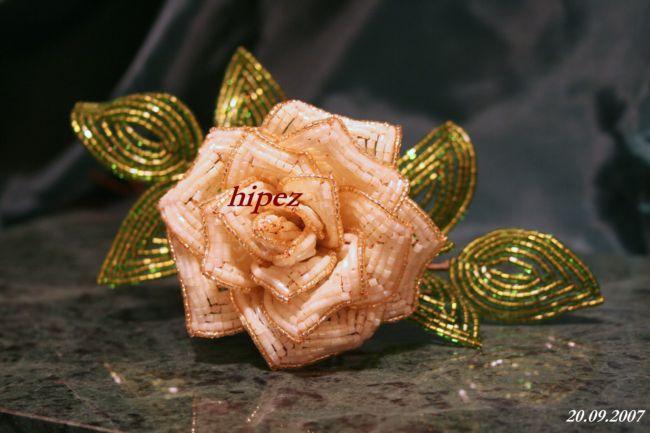 цветы из бисера - ЦВЕТЫ ИЗ БИСЕРА - поздравительные открытки, подарки и.