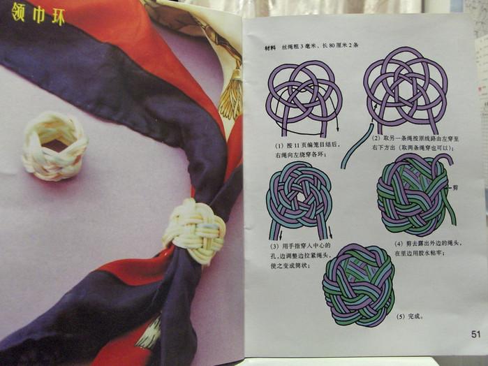 Держатель для салфеток - макраме - схема плетения.