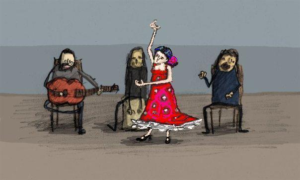 Фламенко смешные картинки