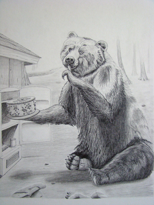 эпиляция отзывами картинка медведя карандашом на рабочий устраивает