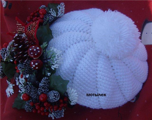 Вязание шапок схемы бесплатно. вязание крючком шапочки.