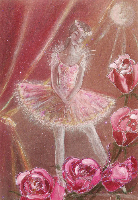 никаким цветочные балерины картинки желании