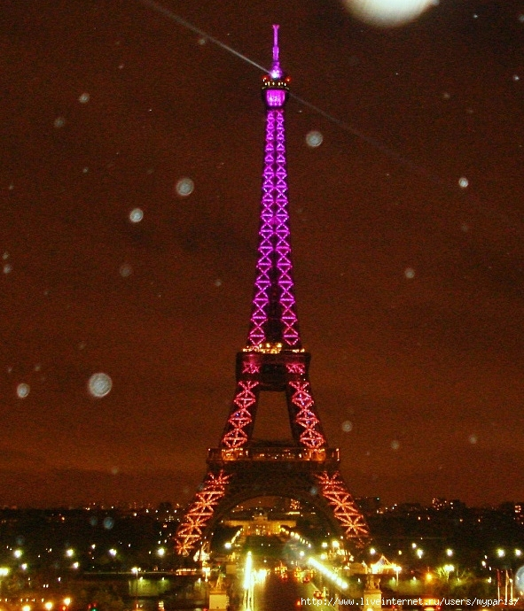 данную картинки эйфелевой башни блестящие формируют виде разветвленного