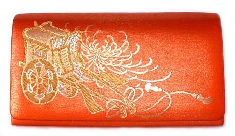 Японские кимоно.  Японская женская шелковая сумочка.  Винтаж 1950-е гг.