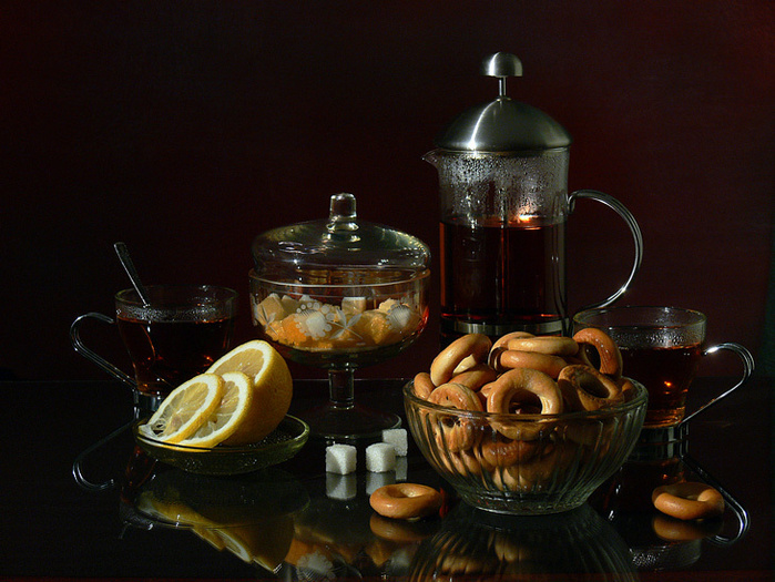 Открытки с чаепитием мужчине
