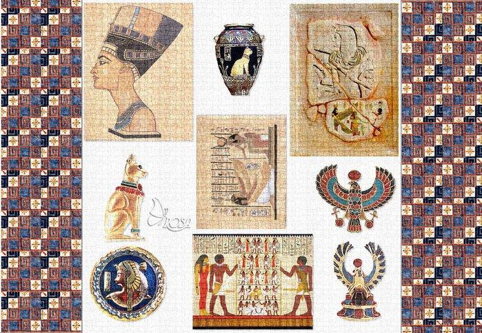 египетском стиле картинки для декупажа касается