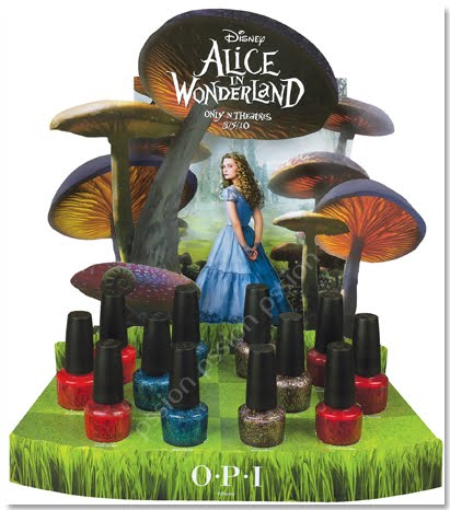 OPI Alice in Wonderland collectie
