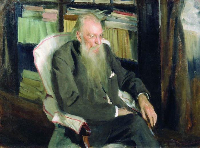 Портрет писателя Д.Л.Мордовцева. 1901