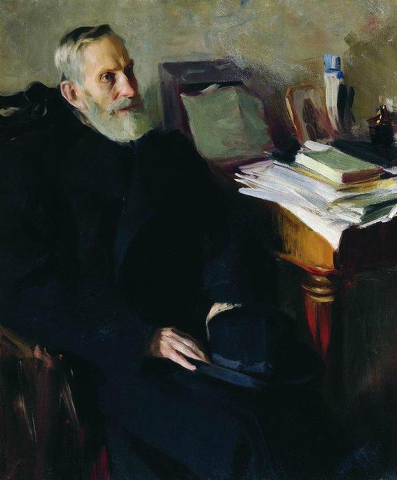 Портрет Степана Лукича Никольского, дяди художника. 1901