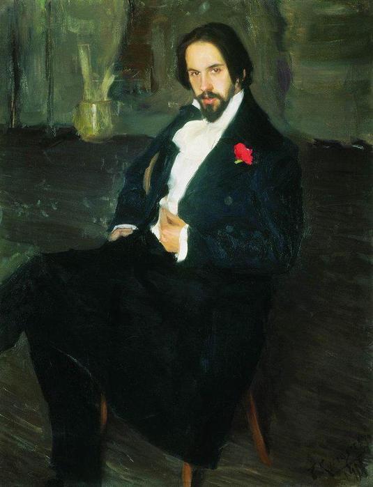 Портрет И.Я.Билибина. 1901