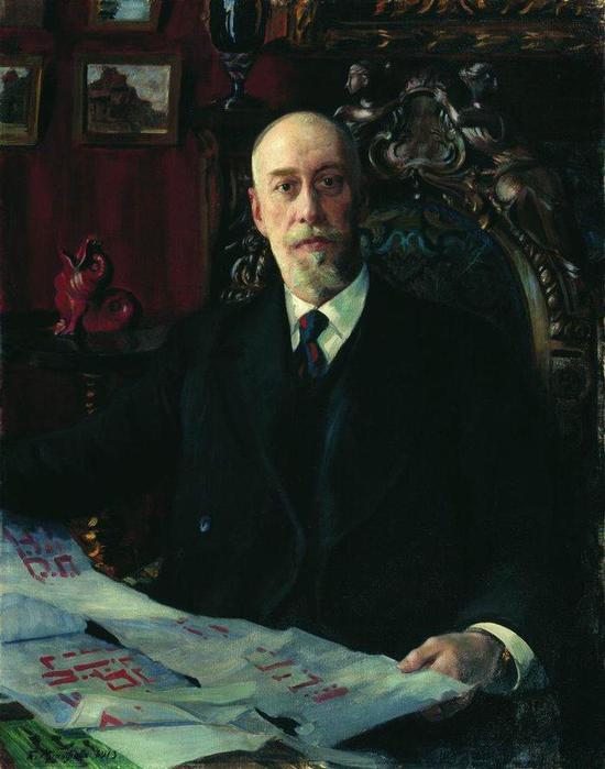 Портрет Н.К. фон Мекка. 1913