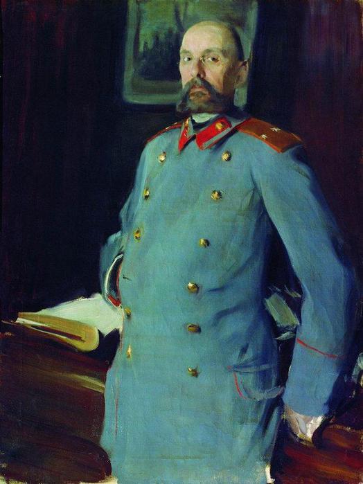 Портрет коменданта Мариинского дворца генерал-майора Павла Аркадьевича Шевелева (1846 ). 1903