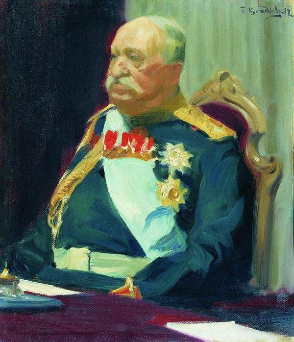 Портрет графа Н.П. Игнатьева. 1902