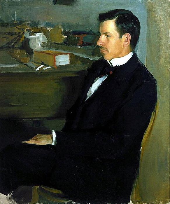 Портрет М.И.Хейлика. 1901