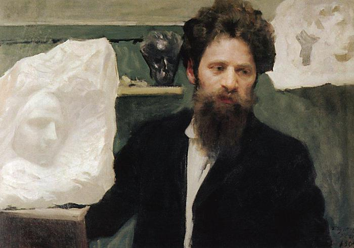 Портрет скульптора Н.Л.Аронсона. 1904