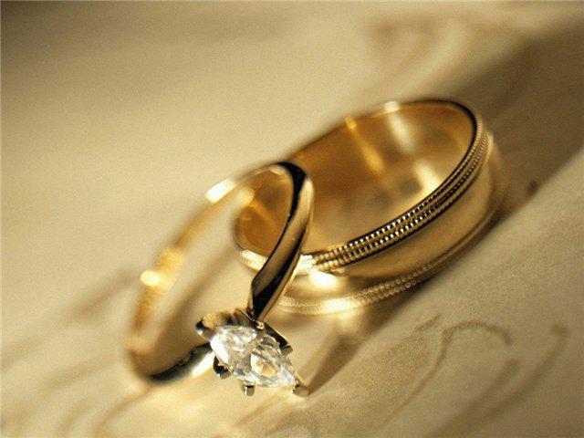 Кольцо и аксессуары • Обручальные кольца должны быть из одного металла  молодым нельзя использовать, переплавленные кольца родителей deb97ed8957