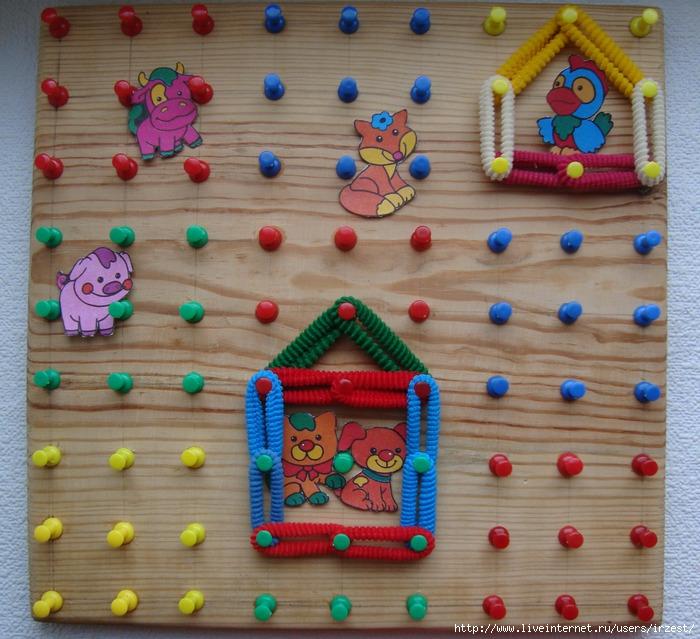 Геометрический планшет(развивающая игрушка) для деток