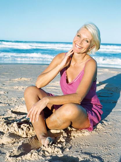 Немецкая девушка блондинка