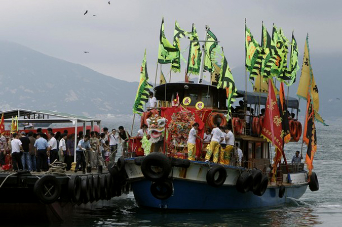 Тин Хау Фестиваль в Гонконге (Tin Hau festival at Hong Kong), Сай Кунг (Sai Kung) район, 6 мая 2010 года.