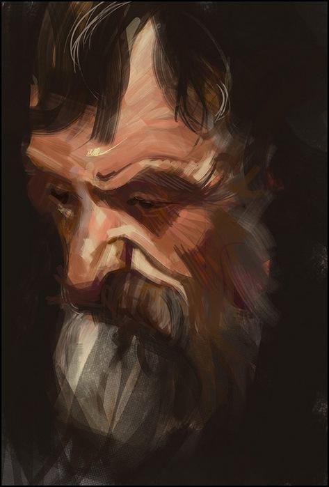 Финский художник Tuomas Korpi (часть 1)
