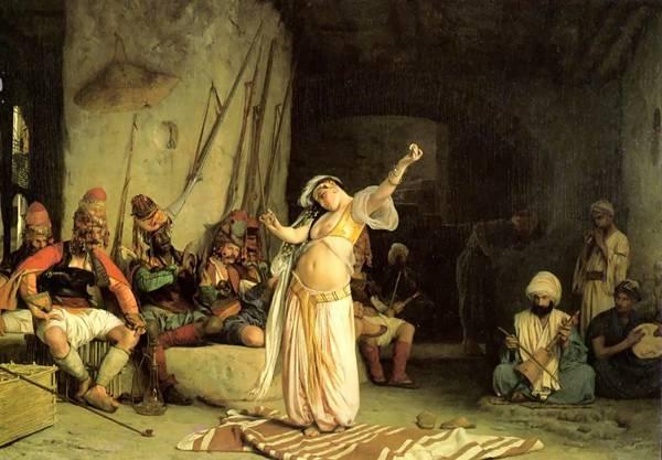 Секс с султаном в гареме