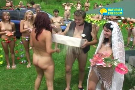 Видео свадьбы нудистов