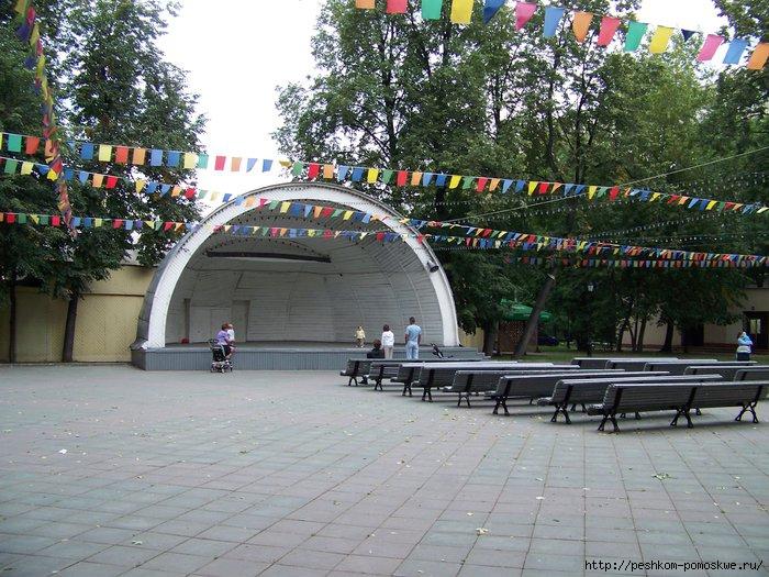 Сад имени баумана остановка