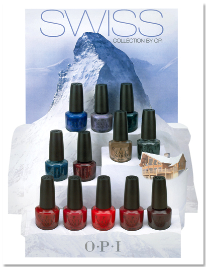 OPI Fall 2010 Swiss Collection