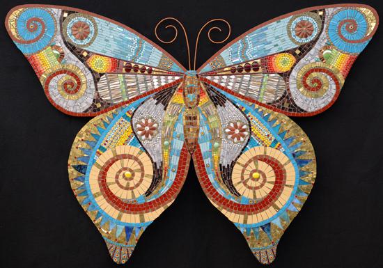 Бабочки из мозайки Обсуждение на Liveinternet