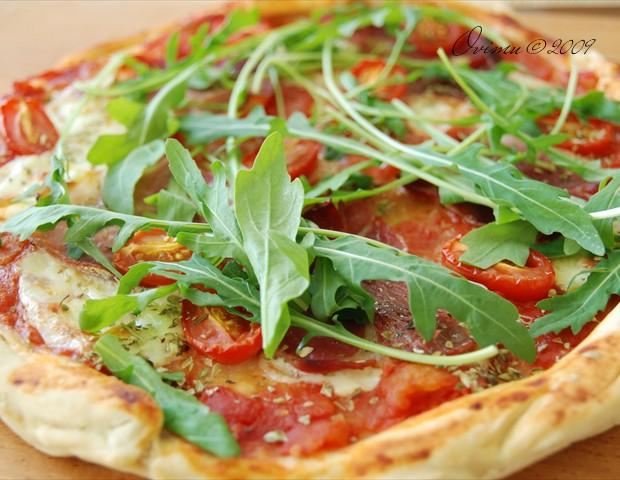 Пицца домашняя рецепт с фото.