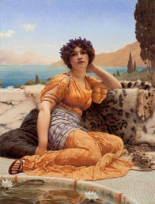ЗНАКОМЬТЕСЬ Британский художник Джон Уильям Годвард (1861 - 1922)