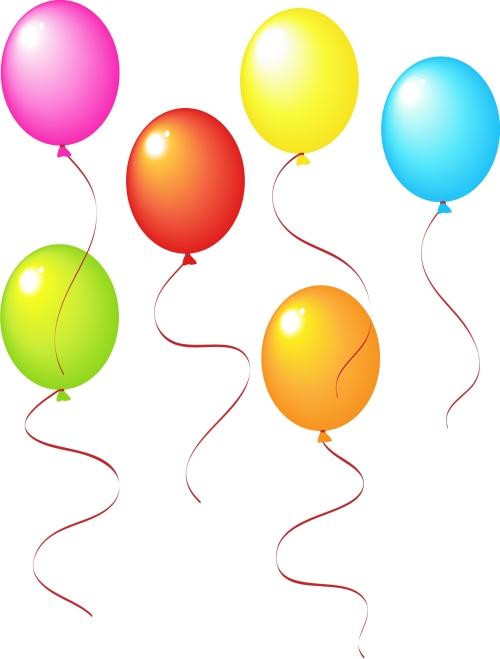 Воздушные шарики Картинки детские