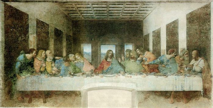 The Last Supper - by Leonardo Da Vinci