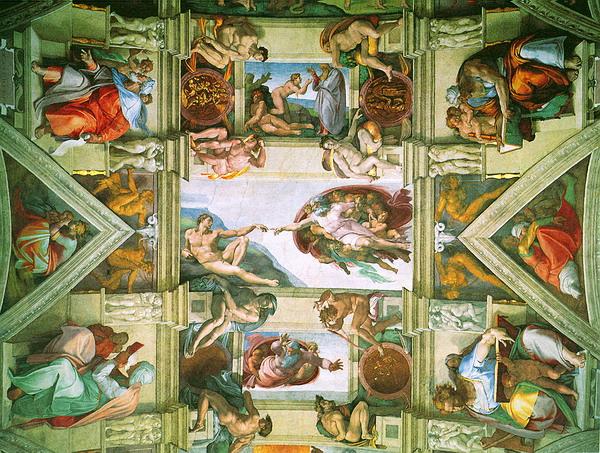 Фреска Сикстинской капеллы.