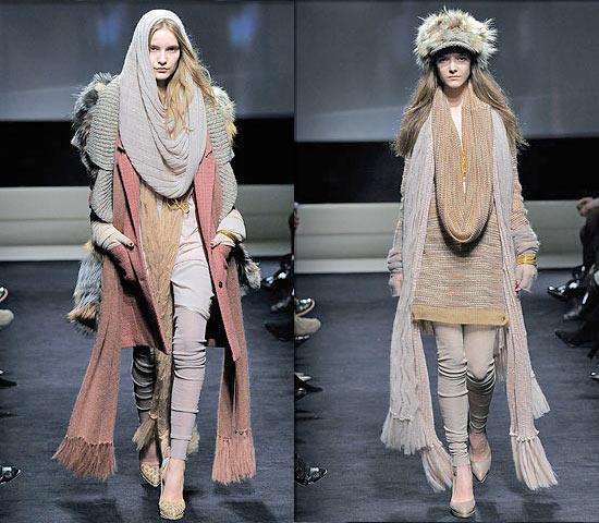Комментарий: Схема вязания берета спицами: модный.
