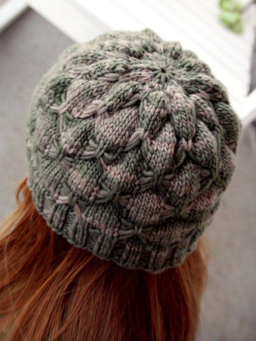 вязания - Вязаные шапки, шляпки и шарфы.