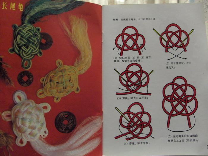 """...всех, выкладываю книгу про  """"Китайские узлы  """", типа макраме."""