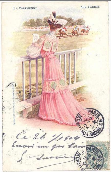 Французские открытки 1979, целуем скучаем кашель