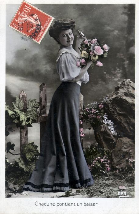 Старинные французские открытки фото, праздником дня